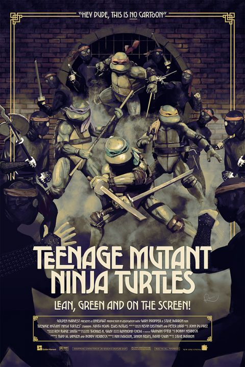 TEENAGE MUTANT NINJA TURTLES | Poster for 30X30 Show