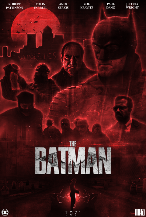 THE BATMAN – MOVIE POSTER (FANART)