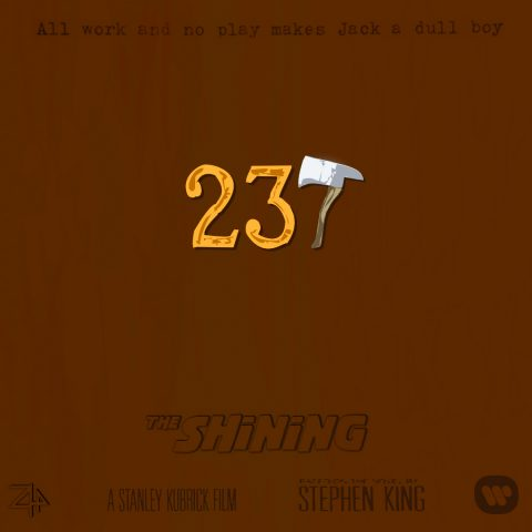 """""""The Shining"""" Tribute Poster by Zyphrr44"""