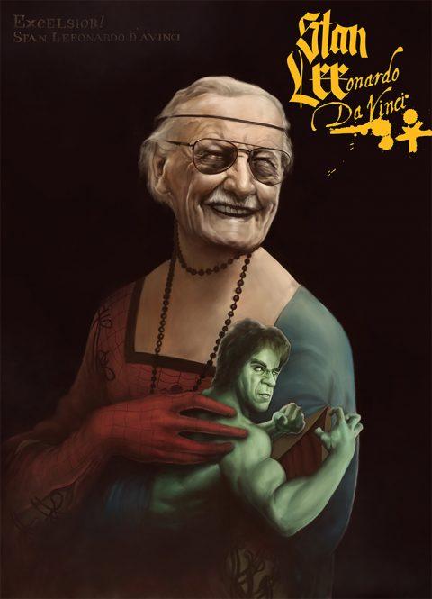 Stan Lee-onardo Da Vinci