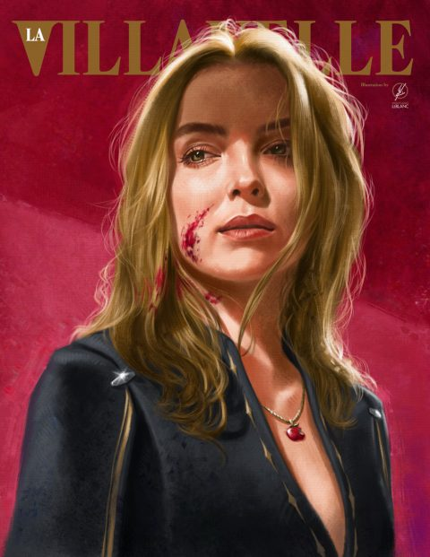 Villanelle Painted Portrait