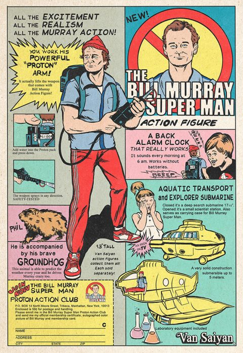 ThE Bill Murray Super Man  (Ghostbusters)