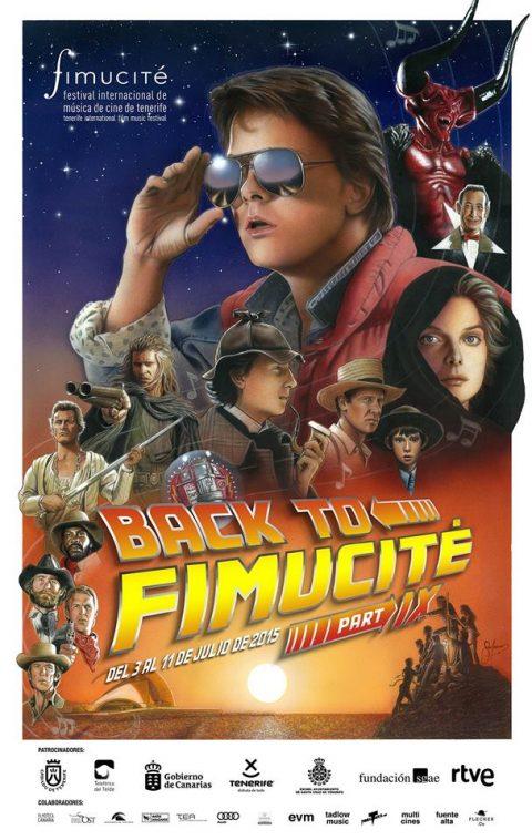 """""""Back to FIMUCITE 9"""" (Tenerife film music concert)"""