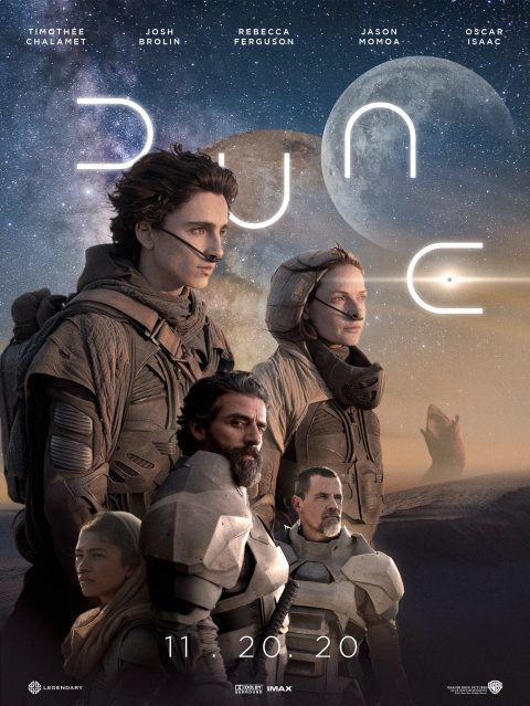 Dune alternative movie poster
