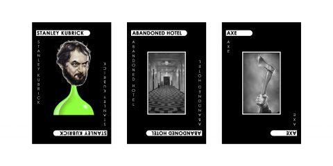 Kubrick – Cluedo Murder Cards