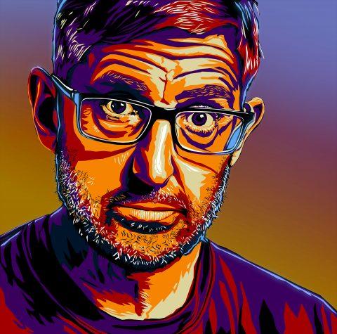 Louis Theroux Portrait