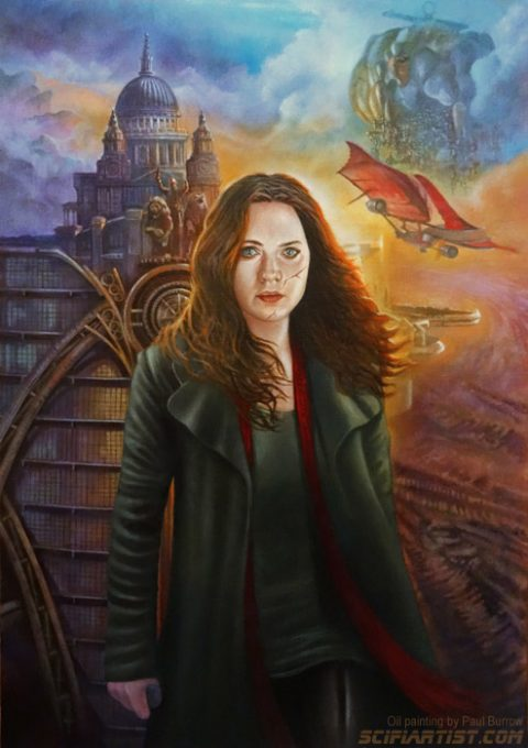 Mortal Engines oil painting