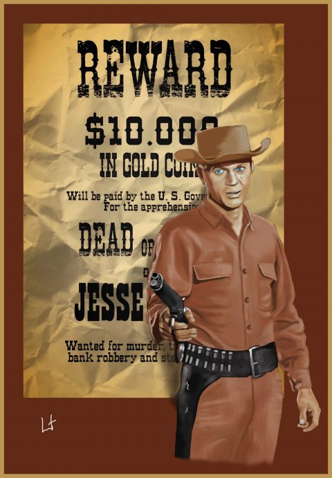 Wanted dead or alive – television series starring Steve McQueen