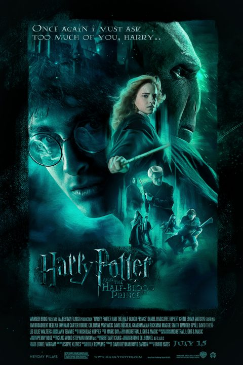 HarryPotter: And the Half-Blood Prince