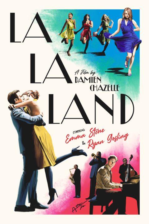 La La Land Classic Poster