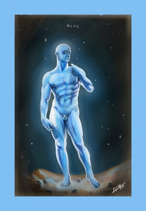 Dr. Manhattan portrait