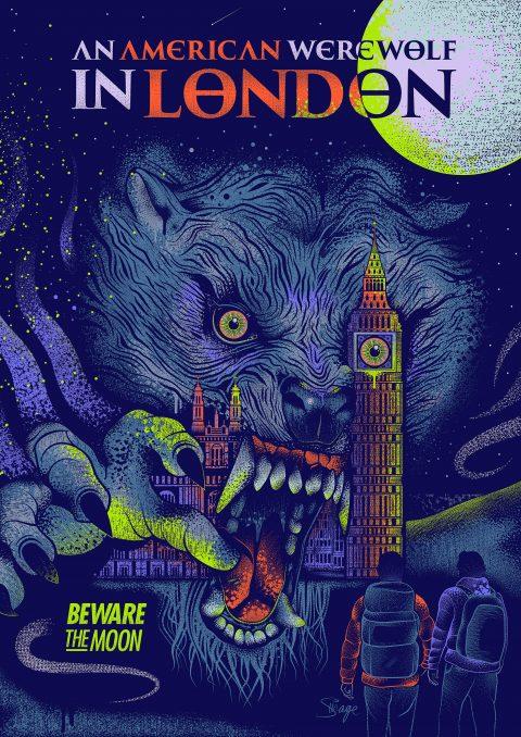 An American Werewolf In London – Art VS/Collaboration