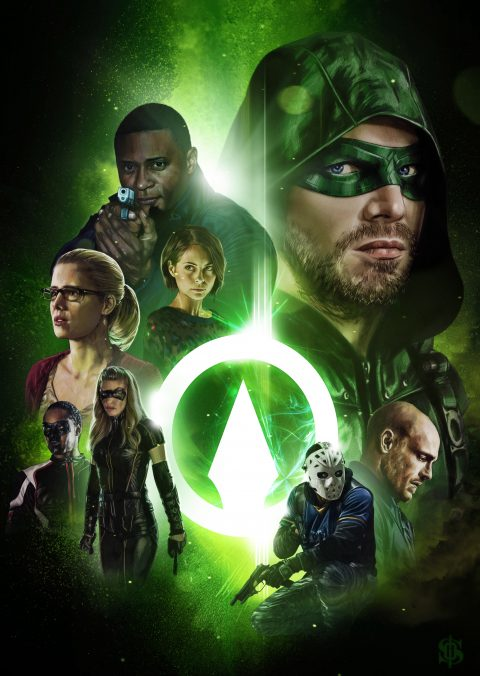 Arrow Cast – DC Universe