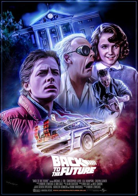 Back To The Future Alternate Poster