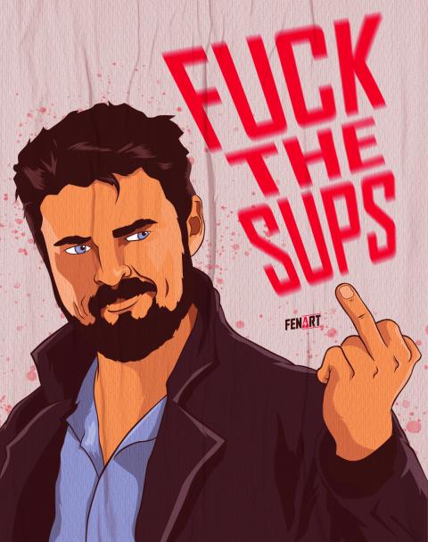 Fuck the sups – Butcher