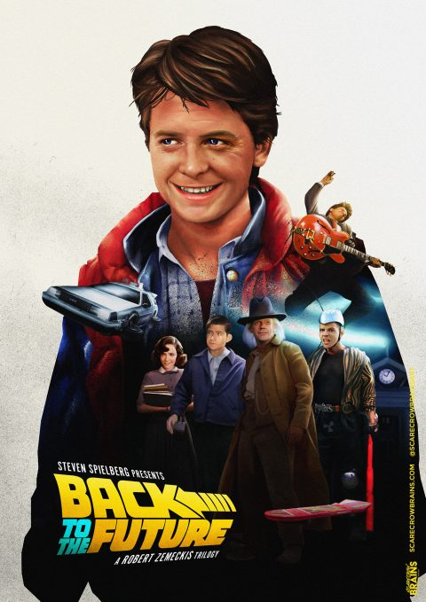 Back to the Future (1985, 1989, 1990)