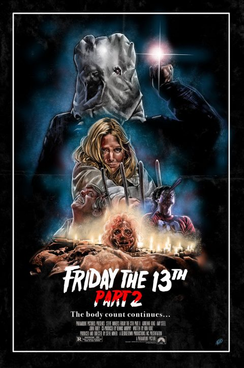 Friday the 13th movie posters