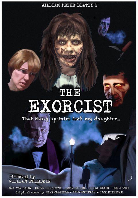The Exorcist alternative poster