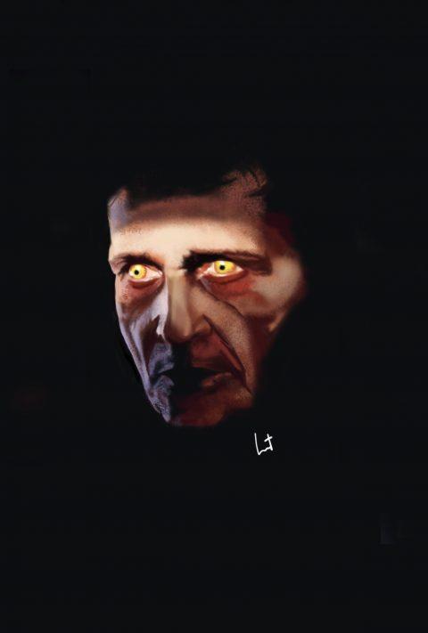Father Karras devilized / Jason Miller – The Exorcist 1973