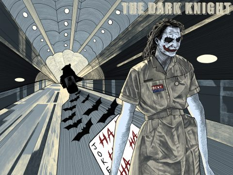 The Dark Knight Alternative Poster