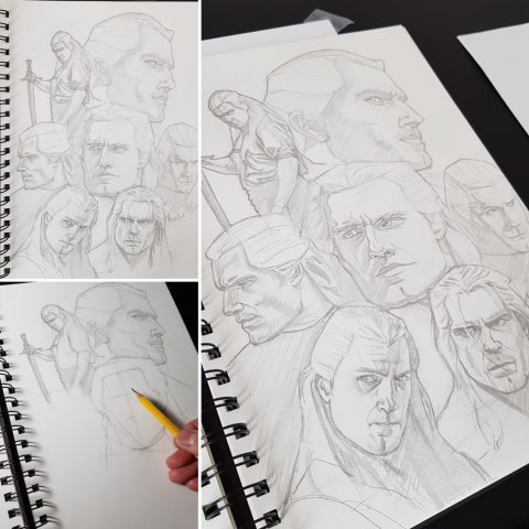 The Witcher – Prelim Sketches