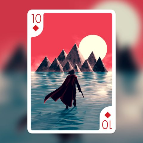 Playing Arts – 10 of Diamonds