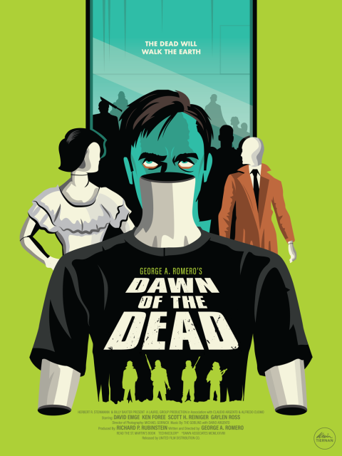 George A. Romero's Dawn of the Dead (Green Version)
