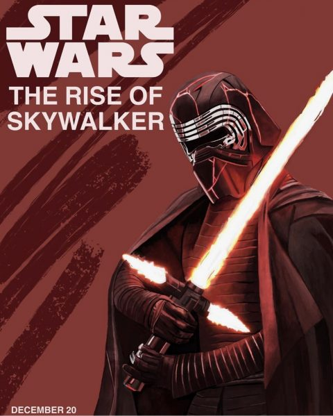 Star Wars Rise of Skywalker Alternative Poster