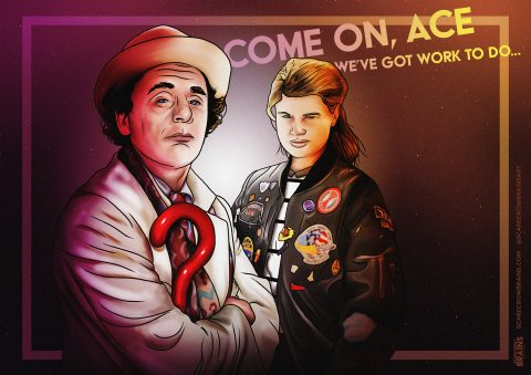 Seventh Doctor and Ace