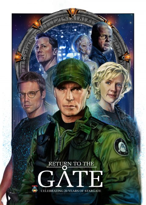 Stargate – 20 years Celebration poster