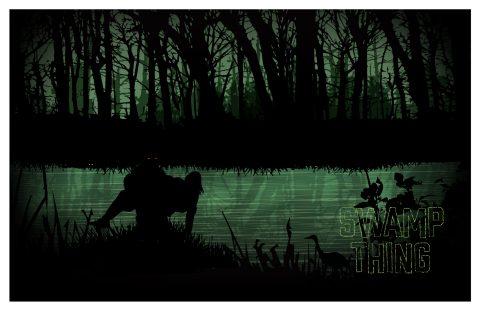 Swamp Thing Alternative Poster