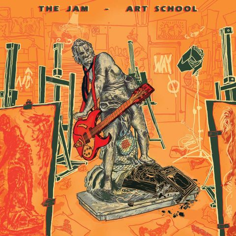 "THE JAM – ART SCHOOL /  ""No Way out"""