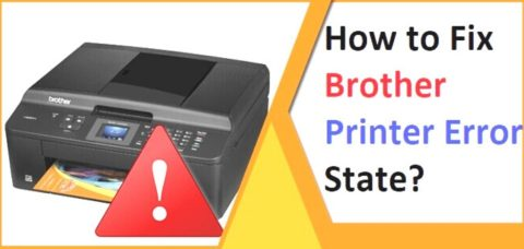 Steps To Resolve Brother Printer Is In Error State