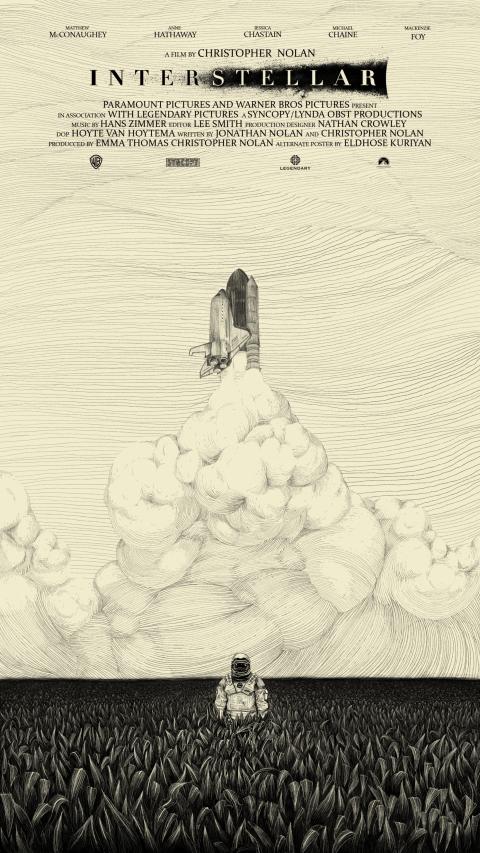 Interstellar Alternate Poster