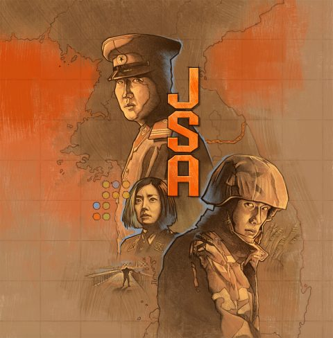 Joint Security Area bluray