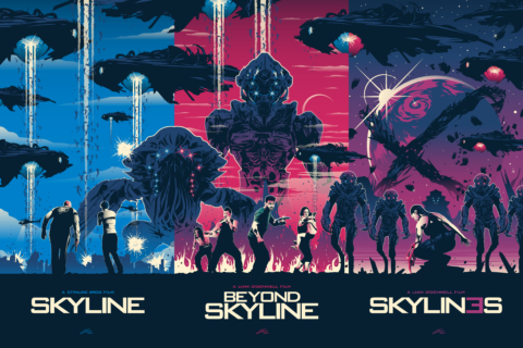OFFICIAL SKYLINE TRILOGY Set