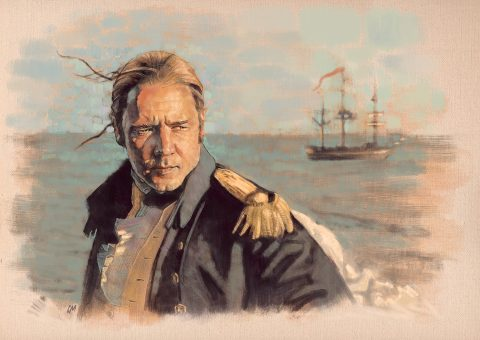Master and Commander sketch