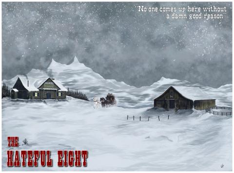 The Hateful Eight landscape