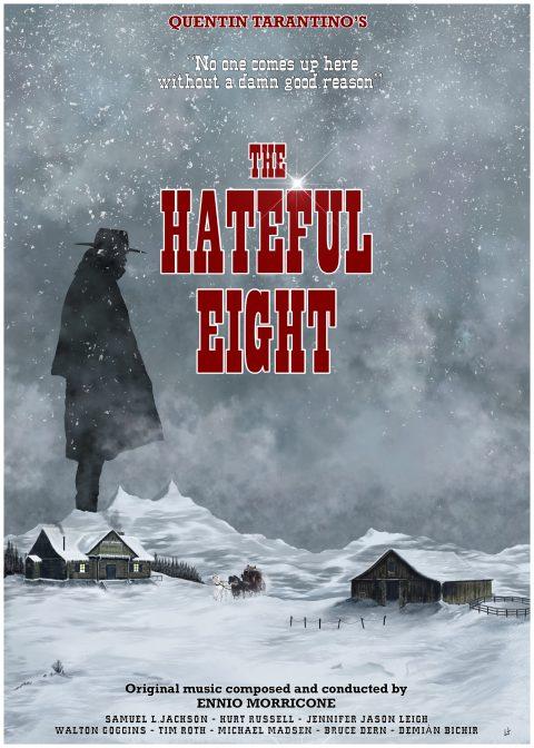 The Hateful Eight alternative poster – final cut !