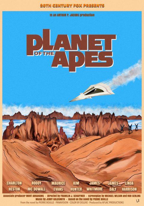 Planet of the apes – 1968 – Franklin J. Schaffner