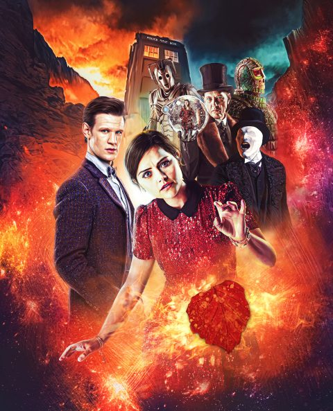 Doctor Who Series 7 – Steelbook Back Cover