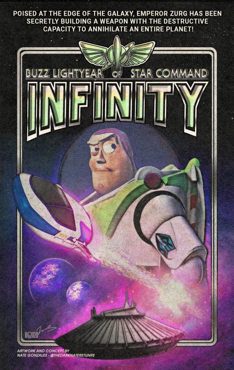 BUZZ LIGHTYEAR OF STAR COMMAND I: INFINITY