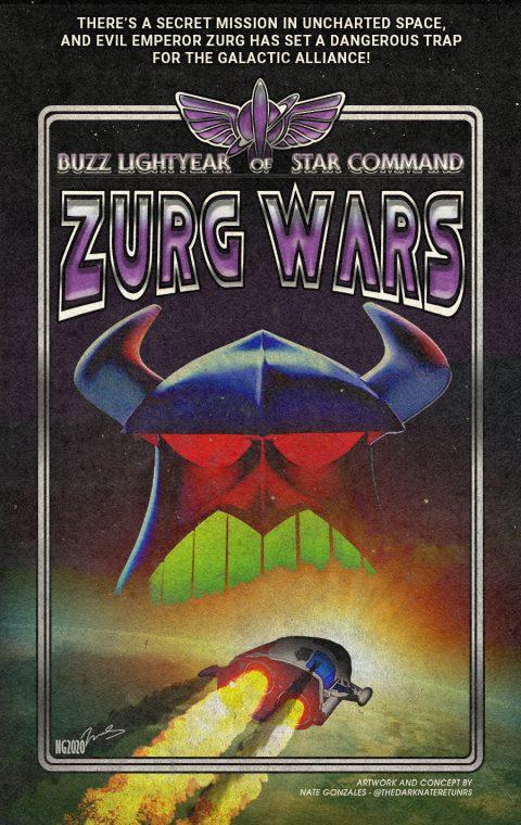 BUZZ LIGHTYEAR OF STAR COMMAND III: ZURG WARS