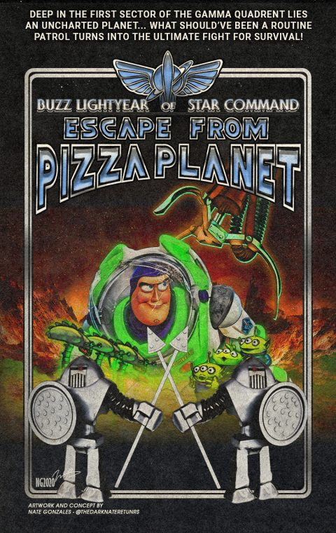 BUZZ LIGHTYEAR OF STAR COMMAND IV: ESCAPE FROM PIZZA PLANET
