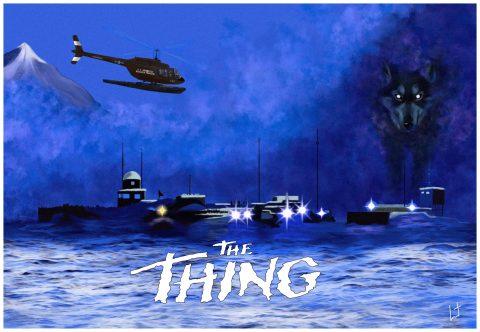 The Thing – John Carpenter 1982 Landscape version