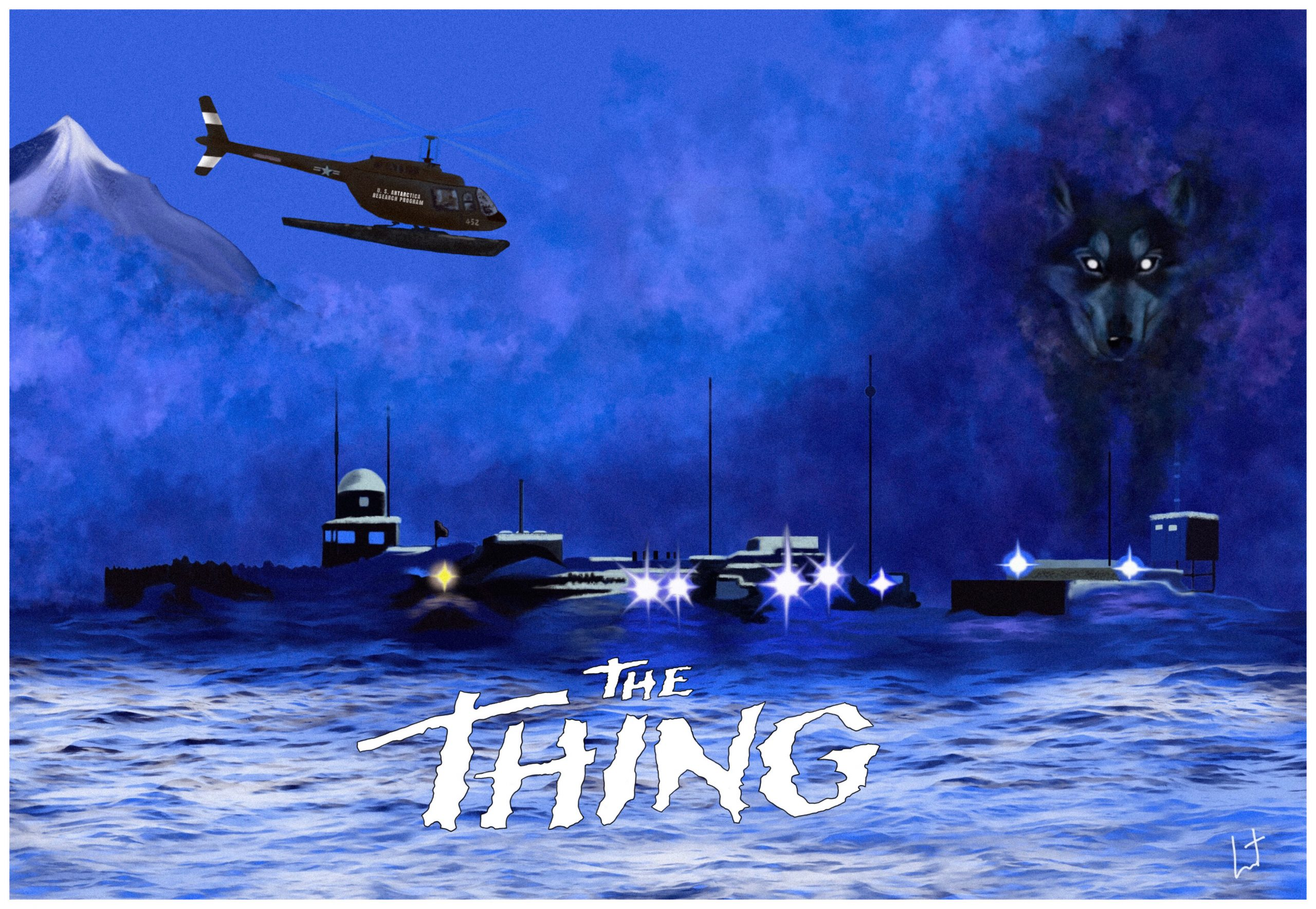 The Thing (1982) –  Horror, Mystery, Sci-Fi