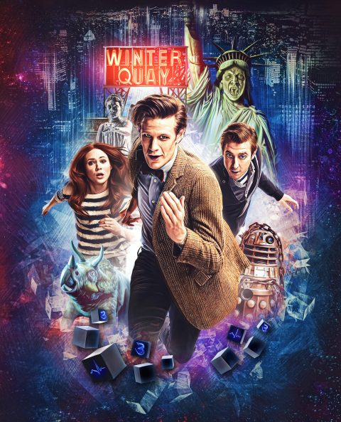 Doctor Who Series 7 – Steelbook Front Cover