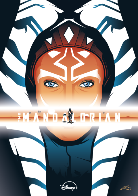 THE MANDALORIAN Ahsoka Tano Poster Art