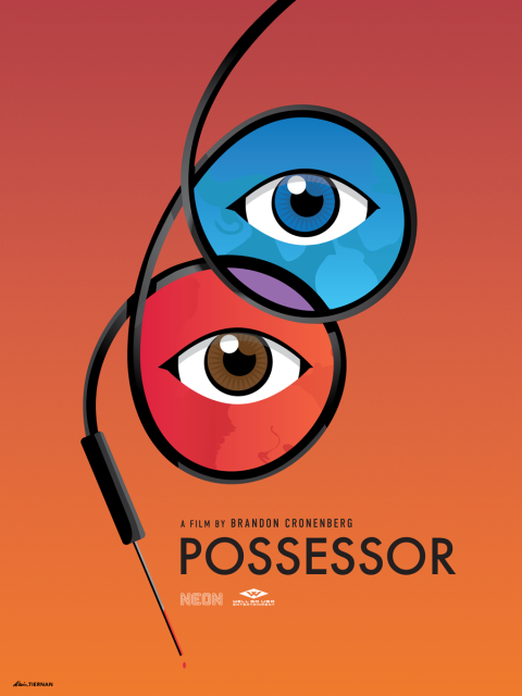 Possessor (Minimal Horror Movie Poster)