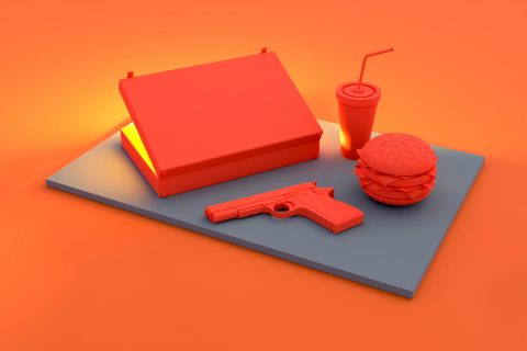 PULP FICTION Minimal 3D